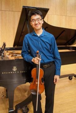 Christopher Scherer violinist